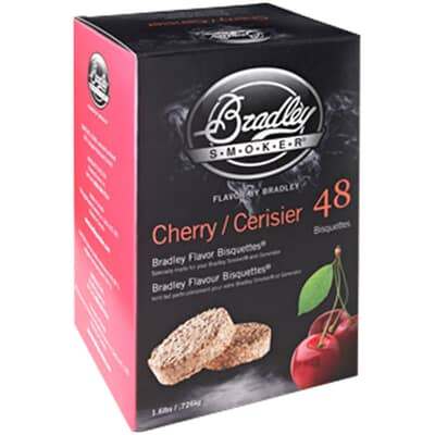 Bradley Smoker Flavour Bisquettes 48 Pack - Cherry