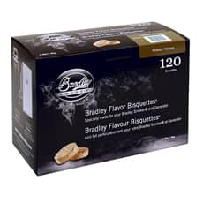 Bradley Smoker Flavour Bisquettes 120 Pack - Hickory