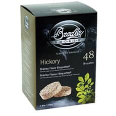 Bradley Smoker Flavour Bisquettes 48 Pack Hickory Flavour