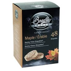 Bradley Smoker Flavour Bisquettes 48 Pack - Maple