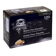 Bradley Smoker Flavour Bisquettes 120 Pack - Oak