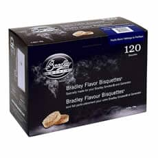 Bradley Smoker Flavour Bisquettes 120 Pack - Pacific Blend