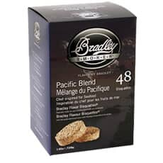 Bradley Smoker Flavour Bisquettes 48 Pack Pacific Blend