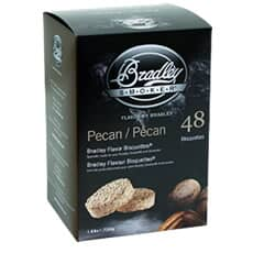 Bradley Smoker Flavour Bisquettes 48 Pack - Pecan Flavour