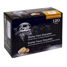 Bradley Smoker Flavour Bisquettes 120 Pack - Whiskey Oak