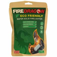 Fire Dragon Safer Solid Fuel Firelighter 6 Pouch