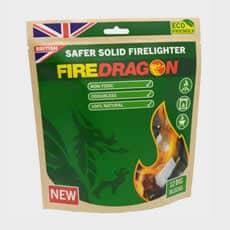 Fire Dragon Safer Solid Fuel Barbecue Firelighter (12 Big Blocks)