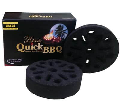 Ultra Quick BBQ Charcoal 5 Pieces