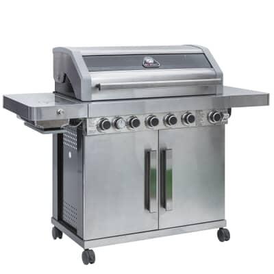 Grillstream Gourmet 6 Burner- Stainless Steel BBQ
