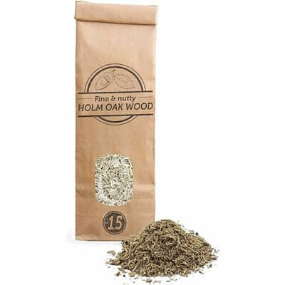 Smokey Olive Wood Woodchips N�1.5 for smoking gun - 300 ml - Holm Oak