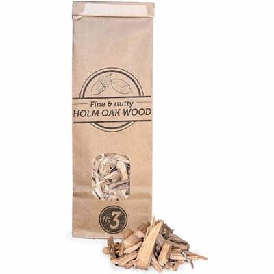 Smokey Olive Wood Smoking Chips N�3 - 1.7 L - Holm Oak