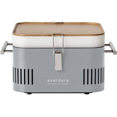 everdure by heston blumenthal CUBE Stone Charcoal BBQ