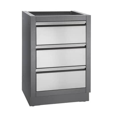 Napoleon Oasis 3 Drawer Cabinet Carbon