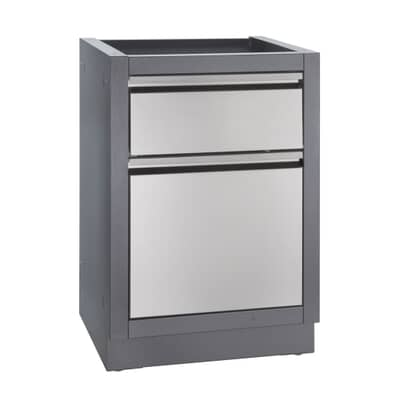 Napoleon Oasis Waste Drawer Cabinet Carbon