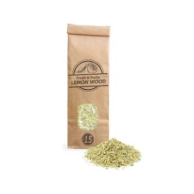 Smokey Olive Wood Woodchips N�1.5 for smoking gun - 300 ml - Lemon