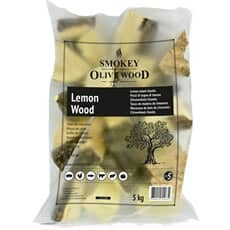 Smokey Olive Wood Chunks N�5 - 1.5 kg - Lemon Wood
