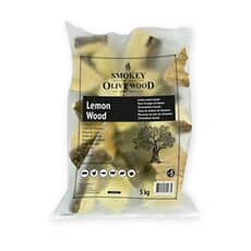 Smokey Olive Wood Chunks N�5 - 5 kg - Lemon Wood