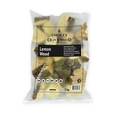 Smokey Olive Wood Chunks N�5 - 5 kg - Lemon Wood