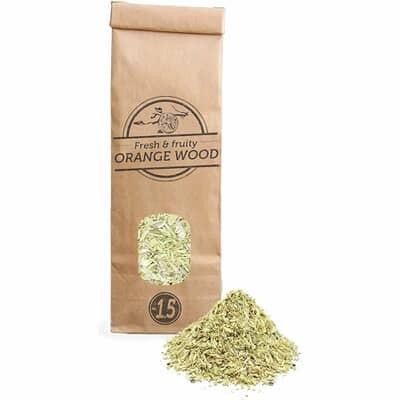 Smokey Olive Wood Woodchips N�1.5 for smoking gun - 300ml - Orange