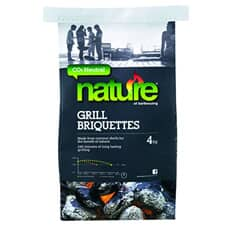 Nature CO2 Neutral Coconut Shell Briquettes 4kg