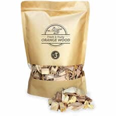 Smokey Olive Wood Smoking Chips N�3 - 1.7 L - Orange Wood