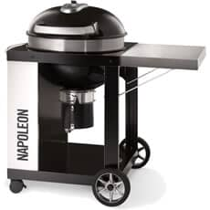Napoleon PRO Charcoal Kettle with Cart BBQ - 57 cm