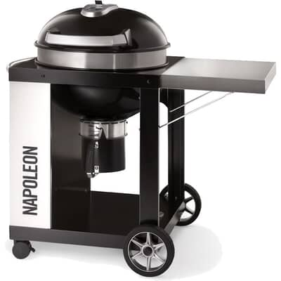 Napoleon PRO Charcoal Kettle with Cart BBQ - 57 cm - PRO22K-CART-2