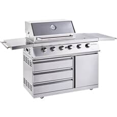 Outback 2021 Signature II 4 Burner Hybrid - Stainless Steel with MCS
