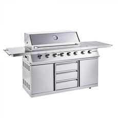 Outback 2020 Signature II 6 Burner Hybrid - Stainless Steel with MCS