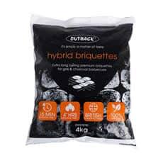 Outback Hybrid Charcoal Briquettes - 4kg