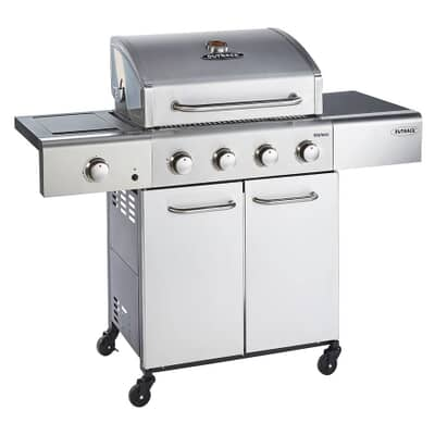 Outback 2021 Meteor 4 Burner - Stainless Steel Gas Barbecue - OUT370962