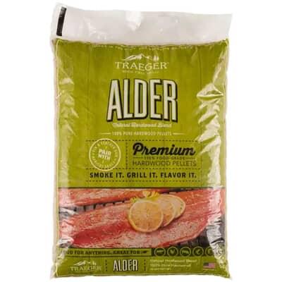 Traeger Grills Wood Pellets - Alder 9kg