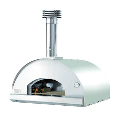 Fontana Marinara Build In Wood Pizza Oven - Stainless Steel