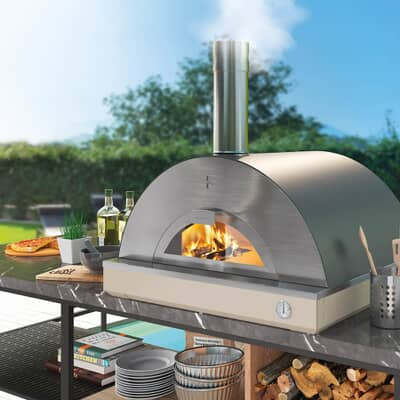 Fontana Riviera Build In Wood Pizza Oven