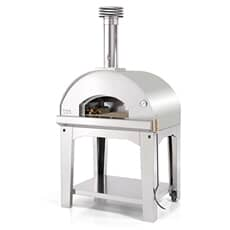 Fontana Char Oven Charcoal and Wood Fired BBQ Oven Including Trolley