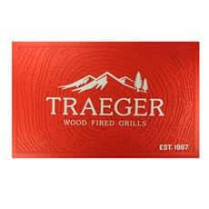 Traeger Grills Orange Grilling Mat