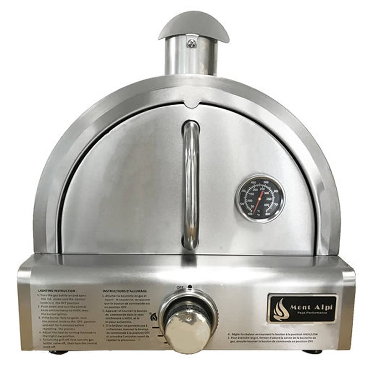 Mont Alpi Table Top Gas Pizza Oven Po37 Bbq World