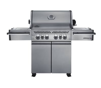 Napoleon Prestige PRO500RSIBNSS with Safety Glow Lights Natural Gas BBQ