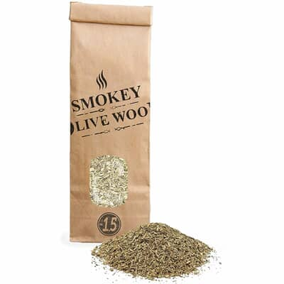 Smokey Olive Wood Woodchips N�1.5 for smoking gun - 300ml - Olive