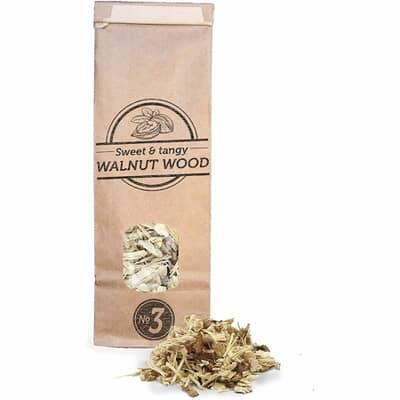Smokey Olive Wood Smoking Chips N�3 - 1.7 L - Walnut Wood
