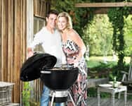 Lighting a Weber Charcoal BBQ - 3