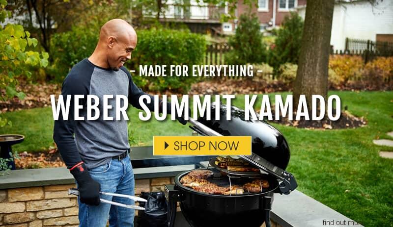 Weber Summit Kamado Barbecues