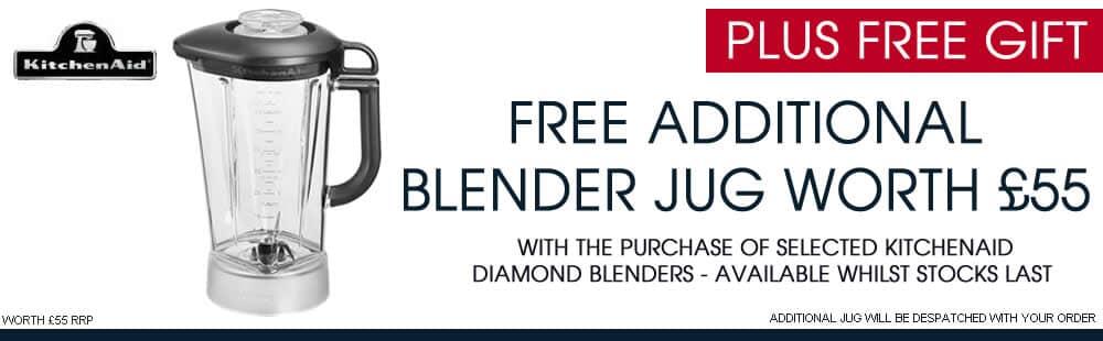 Free Additional Blender Jug