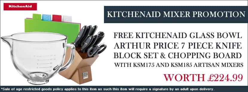 KitchenAid Artisan Mixer Promotion