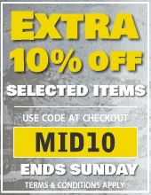 Mid Season Sale - Extra 10% Off