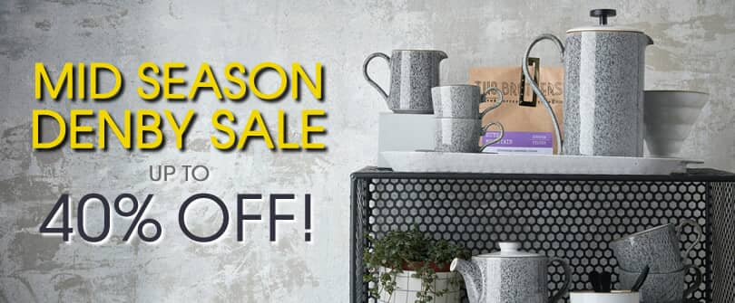James Martin For Denby Tableware Mid Season Sale