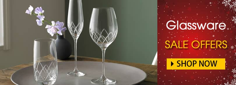 Glassware Sale Now On