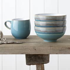 Denby Azure and Azure Coast
