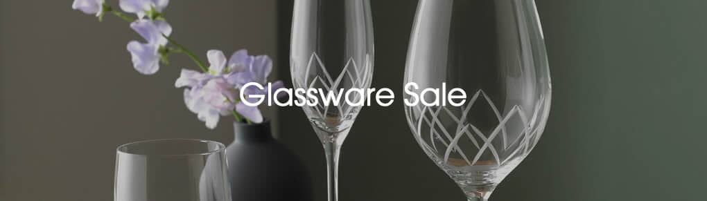 Glassware Sale Offers