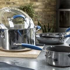 Joe Wicks Stainless Steel Cookware